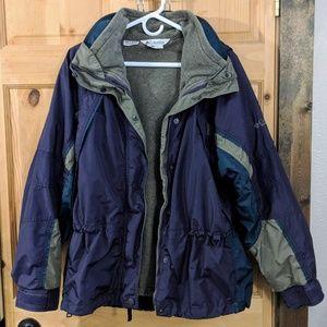 Columbia 3-in1 winter jacket